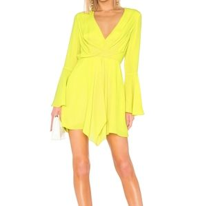 💜NWT Jay Godfrey Dottie Dress in Citrine Revolve